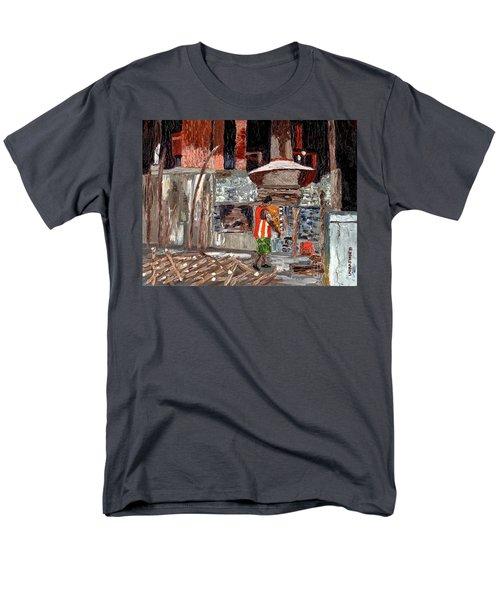 River Antoine Rum Distillery Men's T-Shirt  (Regular Fit) by Laura Forde