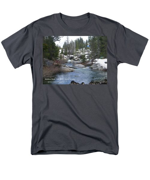 Men's T-Shirt  (Regular Fit) featuring the photograph River Bend  by Bobbee Rickard