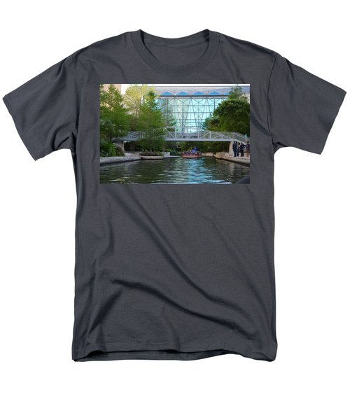 Men's T-Shirt  (Regular Fit) featuring the photograph River Boating  by Shawn Marlow