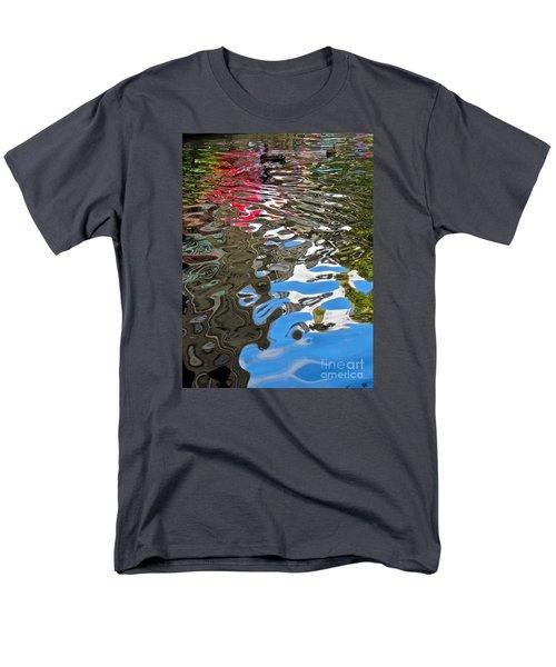 River Ducks Men's T-Shirt  (Regular Fit) by Pamela Clements