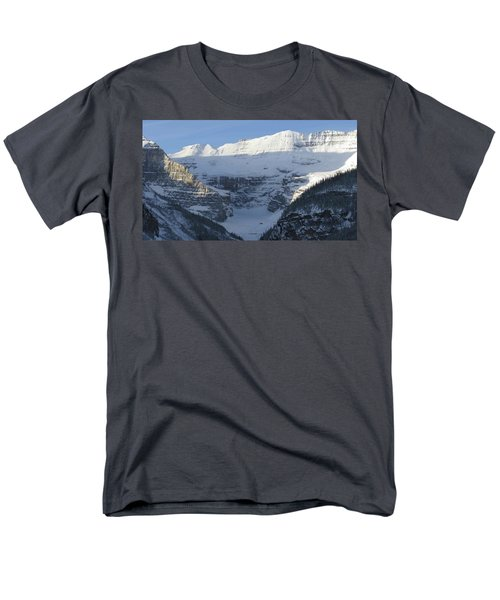 Rocky Mountain Blue Men's T-Shirt  (Regular Fit) by Cheryl Miller