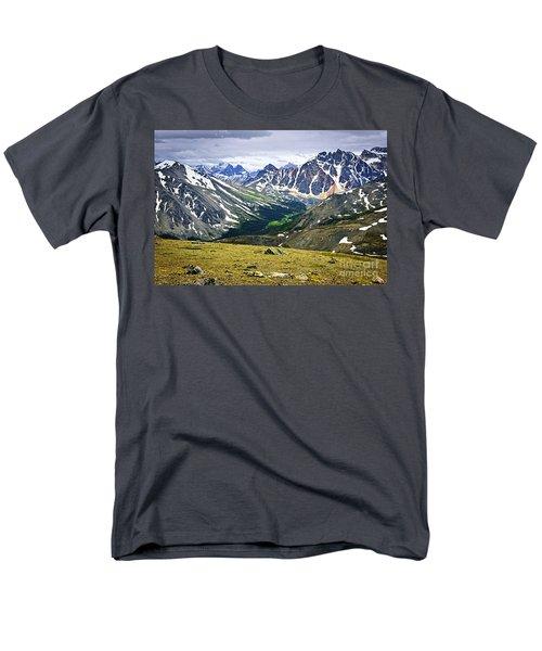 Rocky Mountains in Jasper National Park T-Shirt by Elena Elisseeva