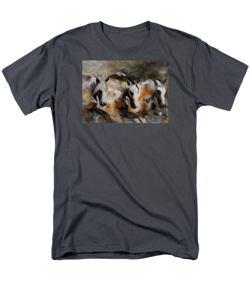 Men's T-Shirt  (Regular Fit) featuring the painting Rolling Thunder by Barbie Batson
