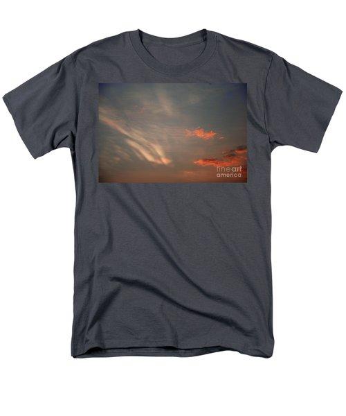 Romantic Sky Men's T-Shirt  (Regular Fit) by Kiran Joshi