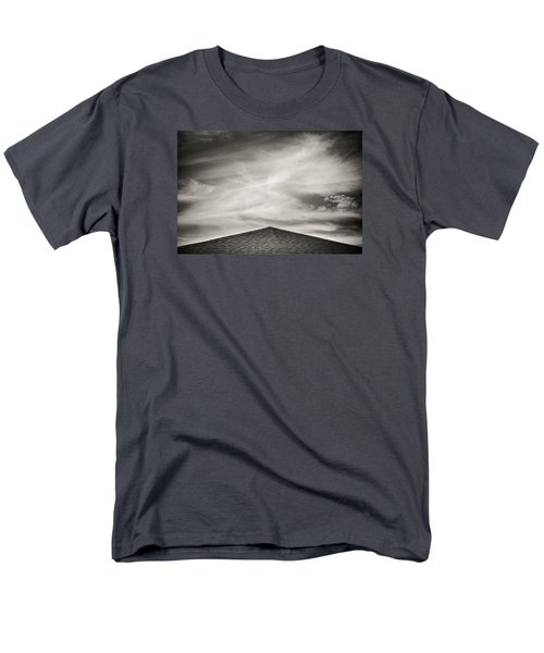 Men's T-Shirt  (Regular Fit) featuring the photograph Rooftop Sky by Darryl Dalton