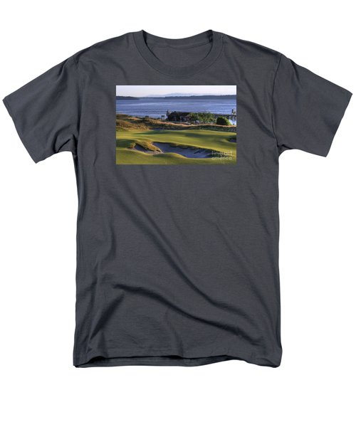 Men's T-Shirt  (Regular Fit) featuring the photograph Hole 17 Hdr by Chris Anderson