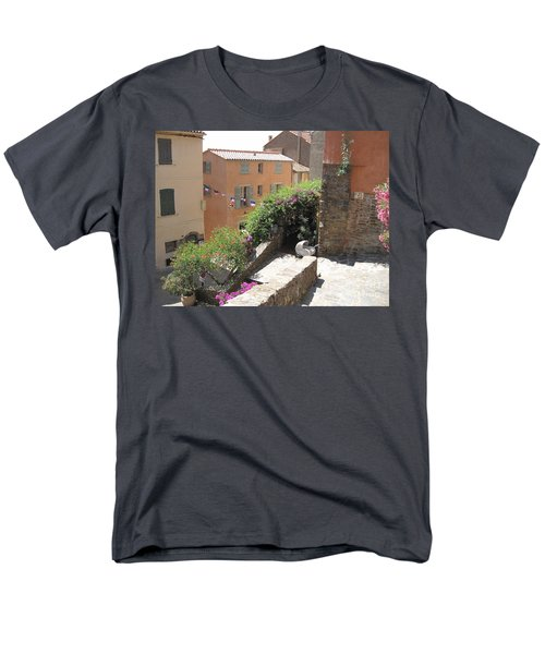 Rue De La Rose Men's T-Shirt  (Regular Fit) by HEVi FineArt