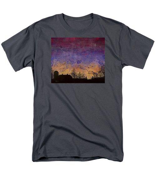 Rural Sunset Men's T-Shirt  (Regular Fit) by Jack Malloch