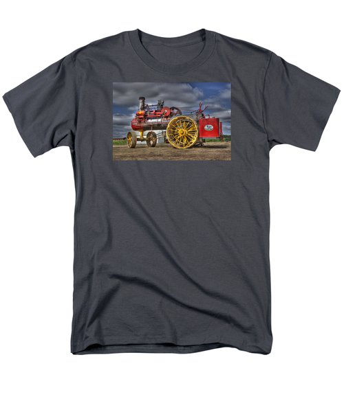 Russell Steam Men's T-Shirt  (Regular Fit) by Shelly Gunderson