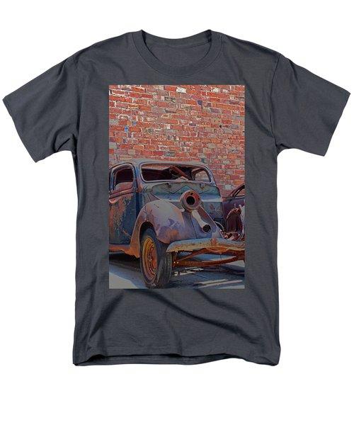 Rust In Goodland Men's T-Shirt  (Regular Fit) by Lynn Sprowl