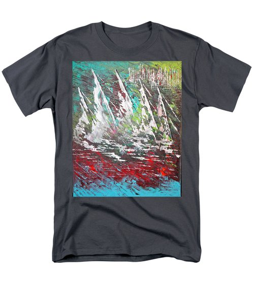 Sailing Together - Sold Men's T-Shirt  (Regular Fit) by George Riney