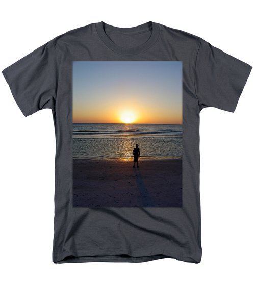 Men's T-Shirt  (Regular Fit) featuring the photograph Sand Key Sunset by David Nicholls
