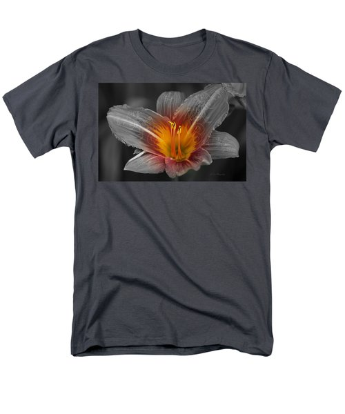 Say Something Men's T-Shirt  (Regular Fit) by Jeanette C Landstrom