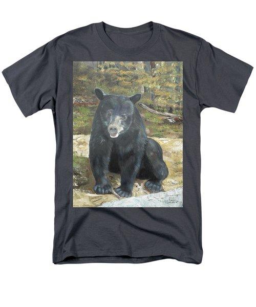Scruffy Again Men's T-Shirt  (Regular Fit) by Jan Dappen