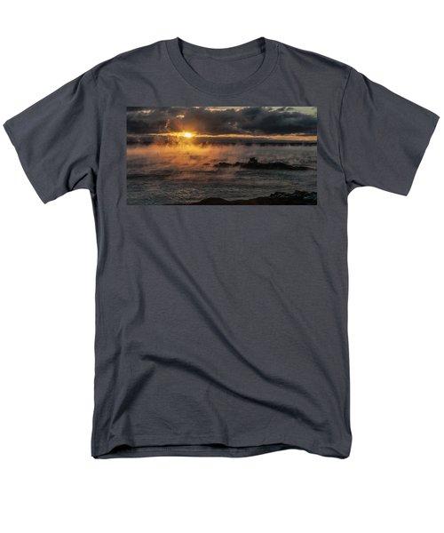 Sea Smoke Sunrise Men's T-Shirt  (Regular Fit) by Marty Saccone