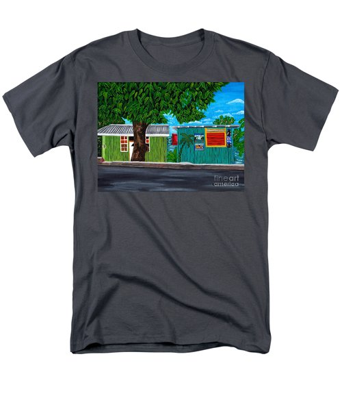 Sea-view Cafe Men's T-Shirt  (Regular Fit) by Laura Forde