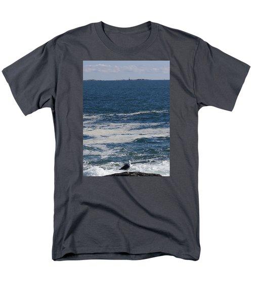 Men's T-Shirt  (Regular Fit) featuring the photograph Seabreeze. by Robert Nickologianis