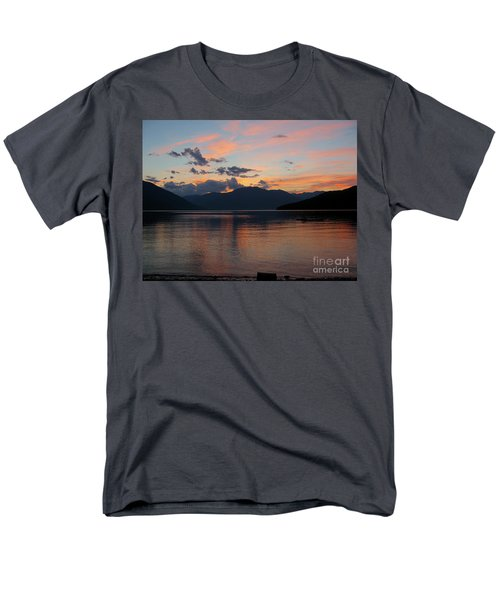 September Sunset Men's T-Shirt  (Regular Fit) by Leone Lund