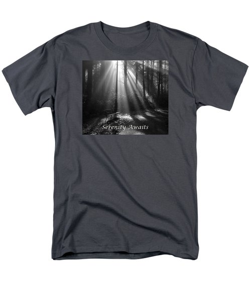 Serenity Awaits Men's T-Shirt  (Regular Fit)