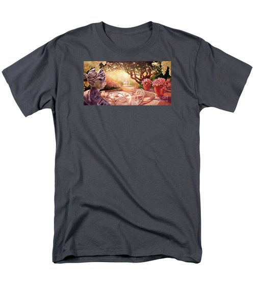 Men's T-Shirt  (Regular Fit) featuring the painting Serenity by Michael Rock