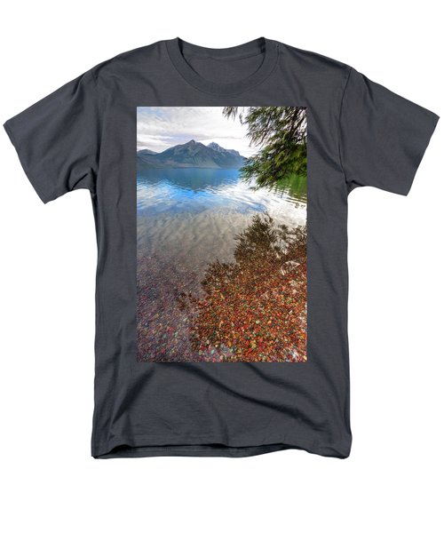 Men's T-Shirt  (Regular Fit) featuring the photograph Shadow Pebbles by David Andersen