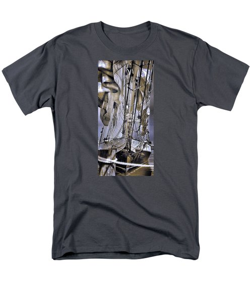 Men's T-Shirt  (Regular Fit) featuring the photograph Shining Sea by Robert McCubbin