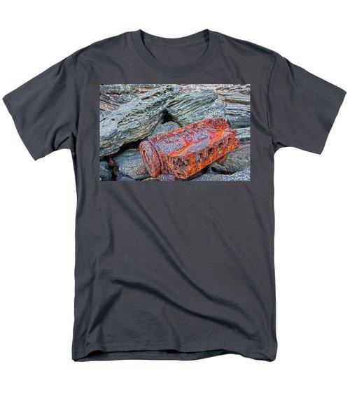 Men's T-Shirt  (Regular Fit) featuring the photograph Shipwrecked ? by Miroslava Jurcik