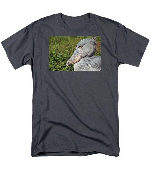 Men's T-Shirt  (Regular Fit) featuring the photograph Shoebill Balaeniceps Rex by Liz Leyden