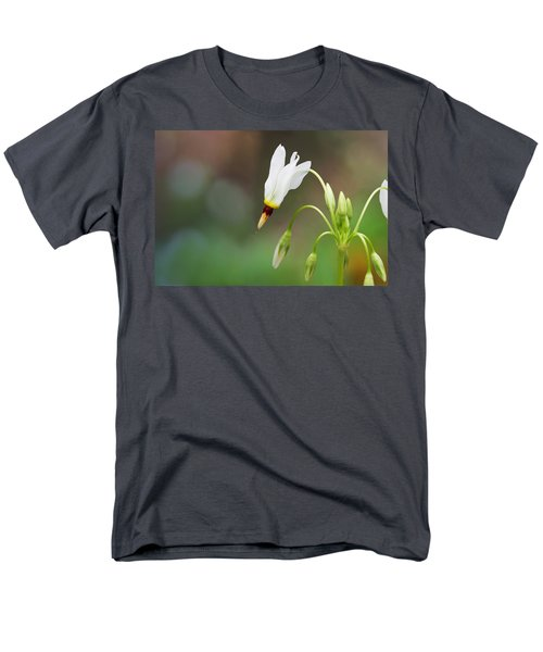Shooting Star Wildflower Men's T-Shirt  (Regular Fit) by Melinda Fawver