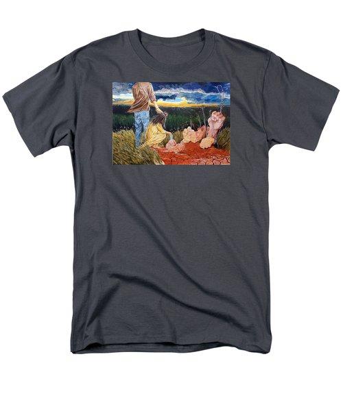 Showing How..... Men's T-Shirt  (Regular Fit) by Lazaro Hurtado