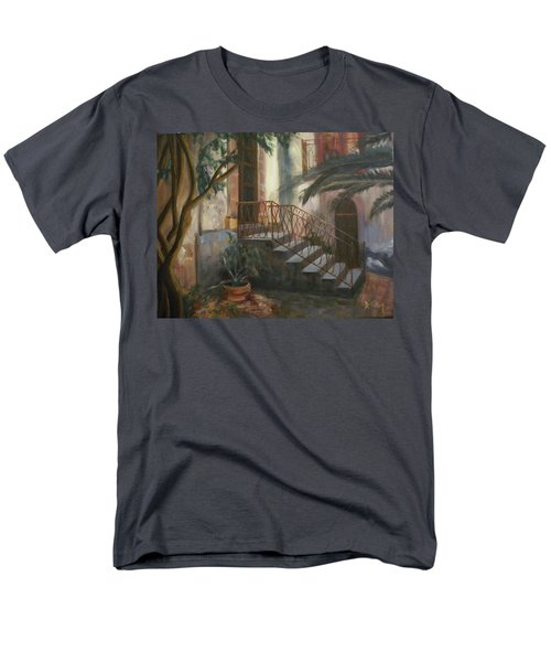 Men's T-Shirt  (Regular Fit) featuring the painting Sicilian Nunnery by Donna Tuten