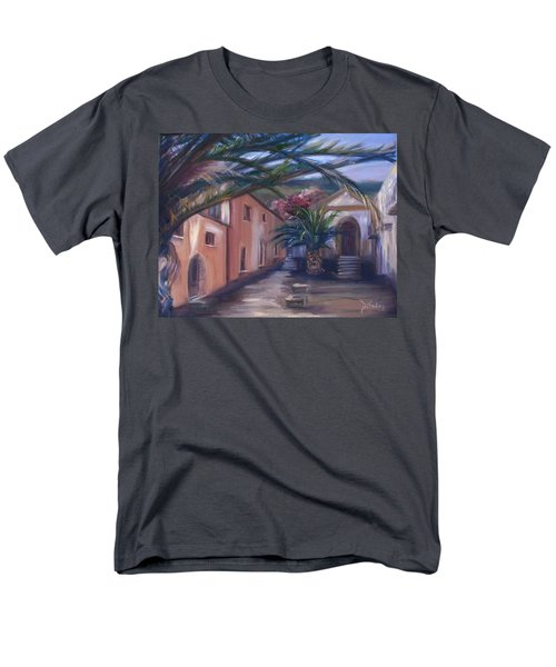 Men's T-Shirt  (Regular Fit) featuring the painting Sicilian Nunnery II by Donna Tuten