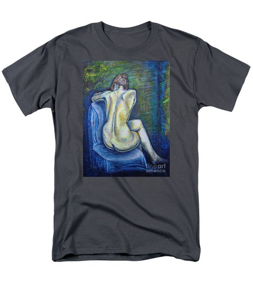 Men's T-Shirt  (Regular Fit) featuring the painting Silhouette 2 by Viktor Lazarev