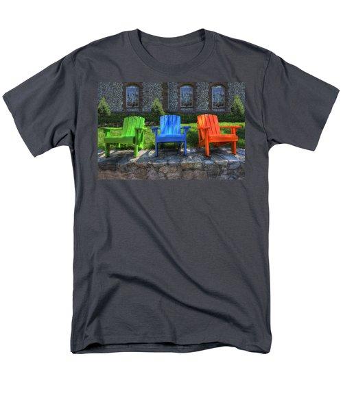 Sit Back Men's T-Shirt  (Regular Fit)