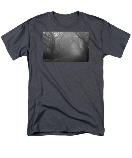 Men's T-Shirt  (Regular Fit) featuring the photograph Skc 0077 A Romatic Path by Sunil Kapadia