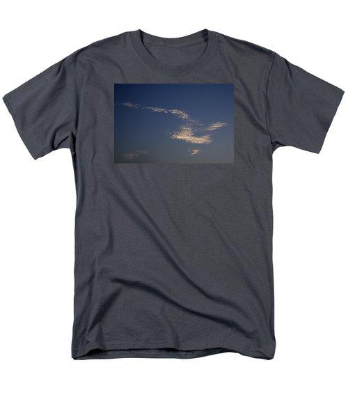 Men's T-Shirt  (Regular Fit) featuring the photograph Skc 0353 Cloud In Flight by Sunil Kapadia