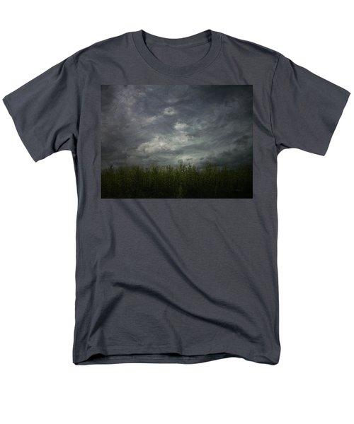 Sky With Cornfield Men's T-Shirt  (Regular Fit)