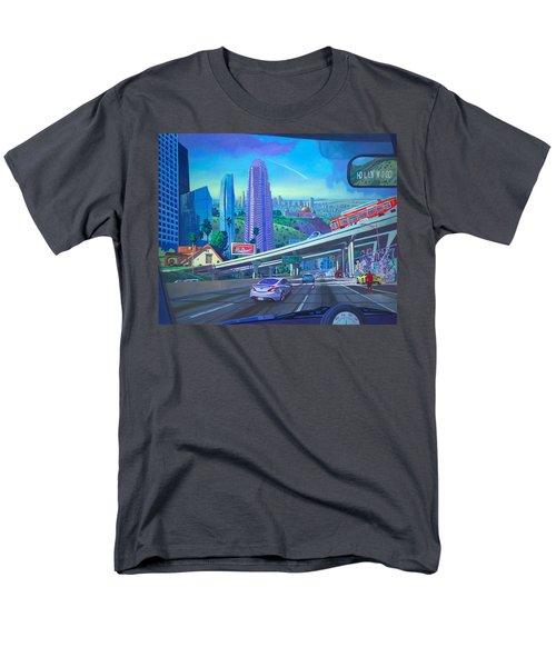 Skyfall Double Vision Men's T-Shirt  (Regular Fit)