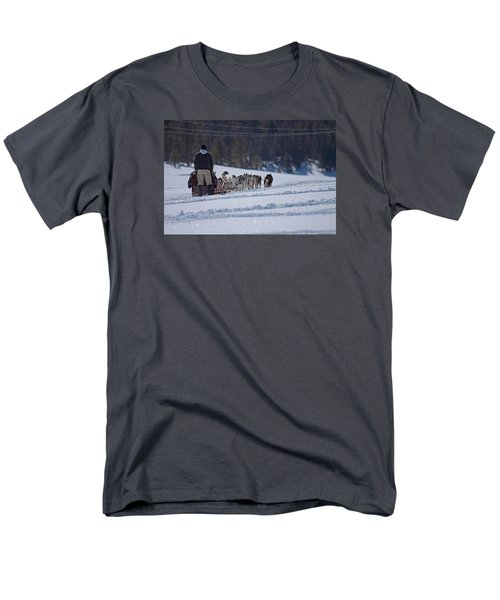 Sled Dog  Men's T-Shirt  (Regular Fit) by Duncan Selby