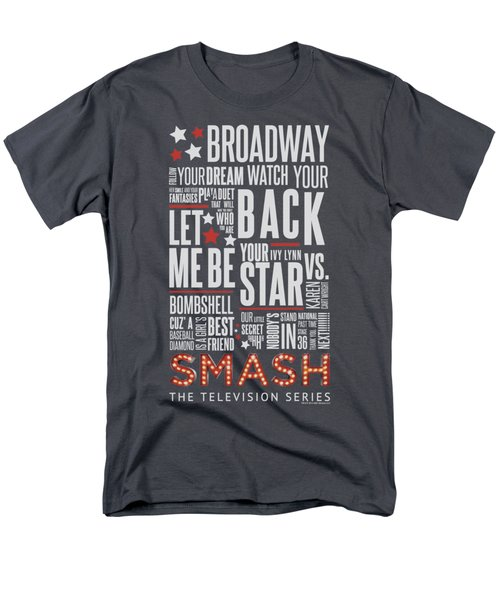 Smash - Broadway Men's T-Shirt  (Regular Fit) by Brand A