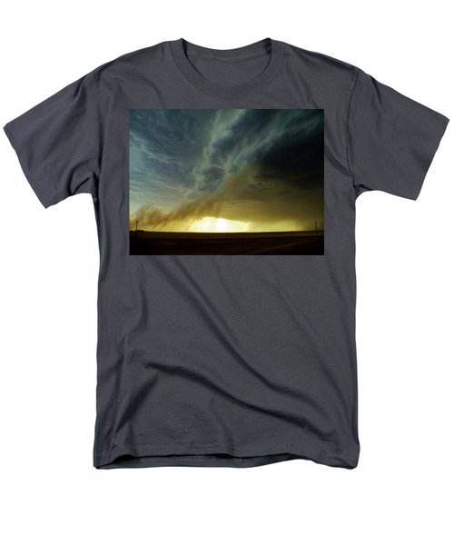 Smoke And The Supercell Men's T-Shirt  (Regular Fit) by Ed Sweeney