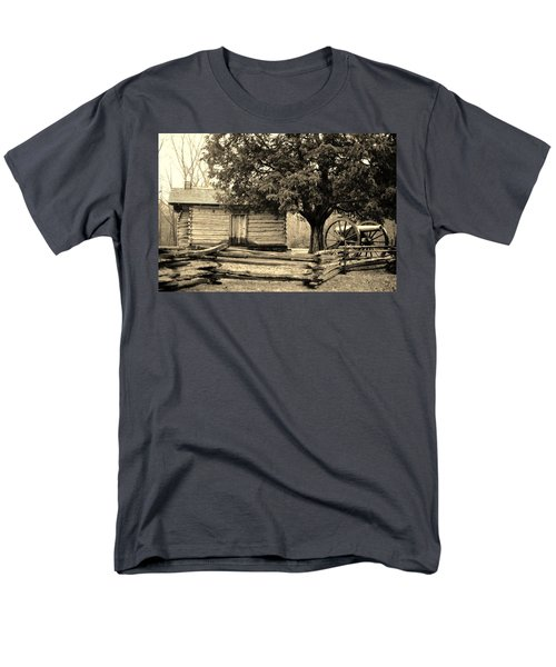 Snodgrass Cabin And Cannon Men's T-Shirt  (Regular Fit) by Daniel Thompson