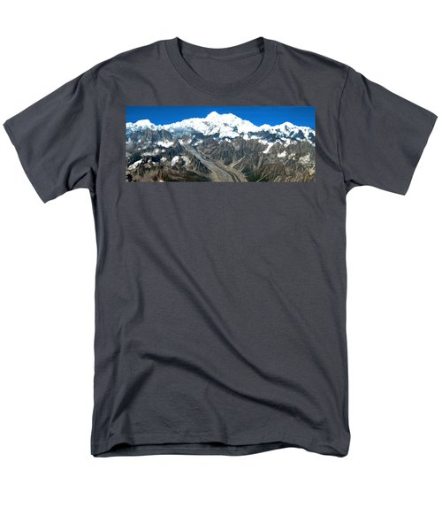 Snow Capped Canyon Men's T-Shirt  (Regular Fit) by Bruce Nutting