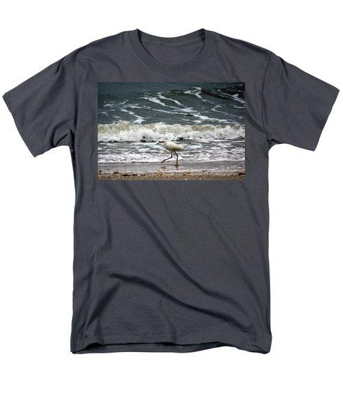 Snowy White Egret Men's T-Shirt  (Regular Fit) by Kim Pate