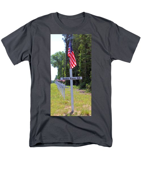 Men's T-Shirt  (Regular Fit) featuring the photograph Some Gave All by Gordon Elwell