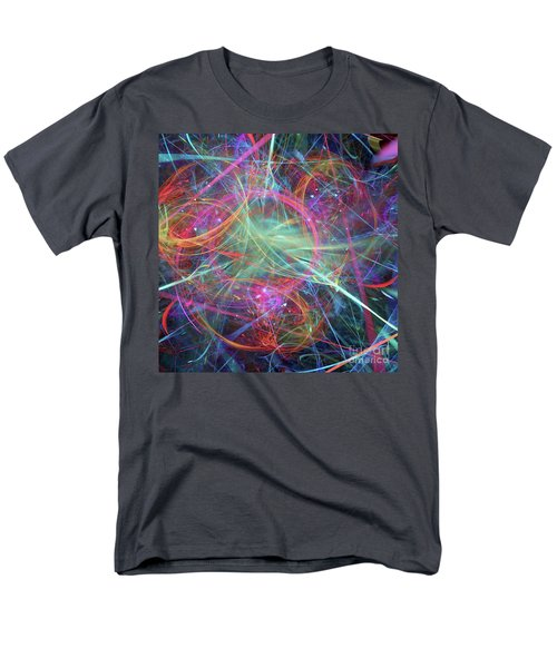 Men's T-Shirt  (Regular Fit) featuring the digital art Sonogram Of The Soul by Margie Chapman