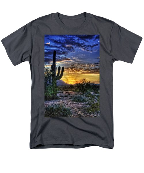 Sonoran Sunrise  Men's T-Shirt  (Regular Fit) by Saija  Lehtonen