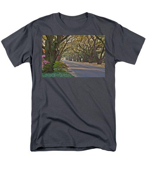 South Boundary In Spring Men's T-Shirt  (Regular Fit)