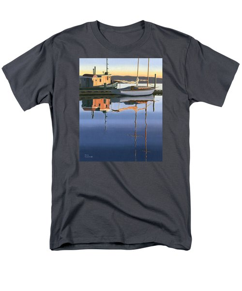 South Harbour Reflections Men's T-Shirt  (Regular Fit) by Gary Giacomelli