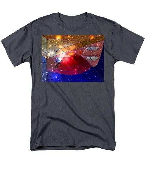 Space Odyssey 08 Men's T-Shirt  (Regular Fit) by Ron Davidson